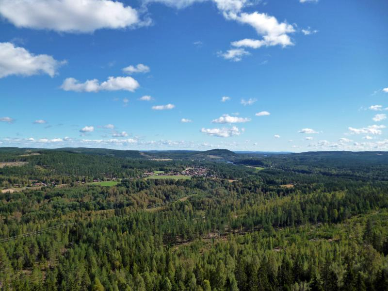 View from Oxberget