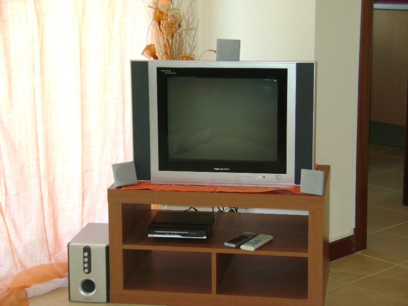 TV and DVD available