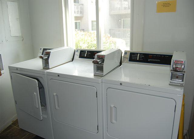 Coin Operated Laundry Facility On-Site