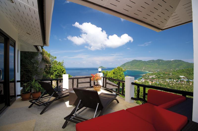 Frangipani Villa's stunning seaview!