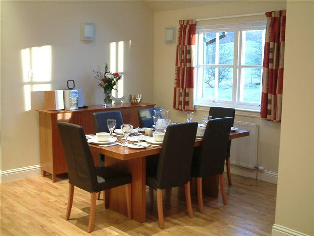 Two bed dining area