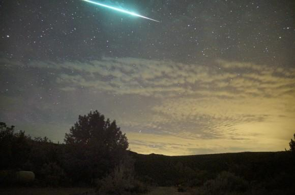 amazing meteor showers in August (over the skies of Arroyo Seco)