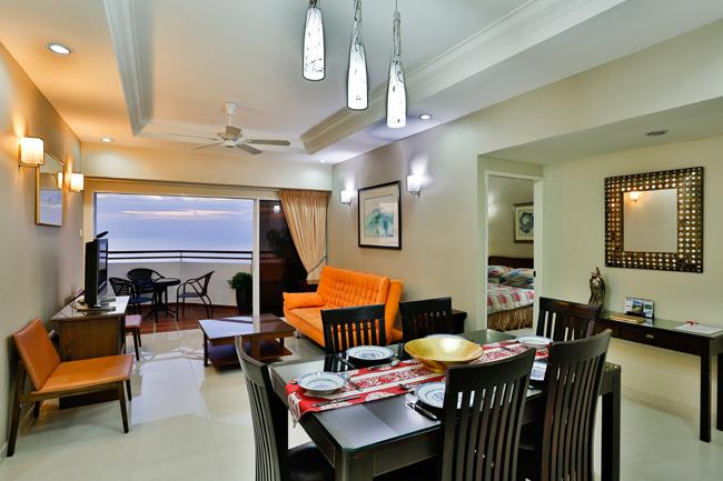 Seaside Holiday Apartment, holiday rental in Penang Island