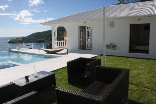 Villa, Garden, Outdoor Sofa Set and Pool