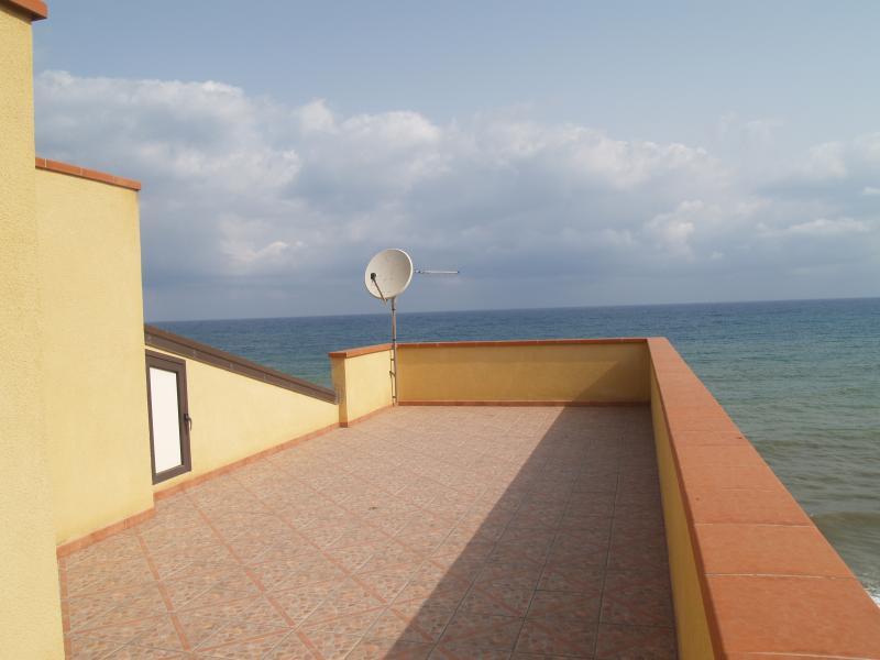 Villa Mare e Sole sur le toit vue