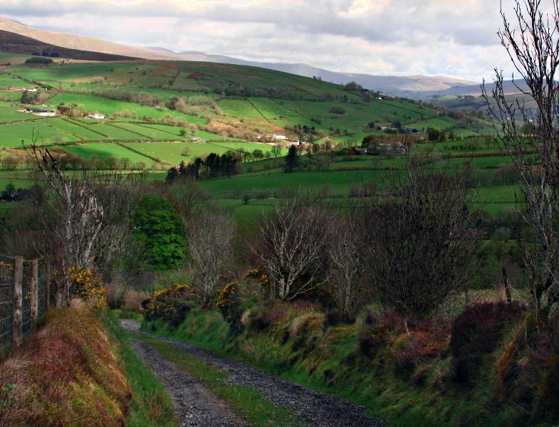 Lights and Shadows on The Sperrins