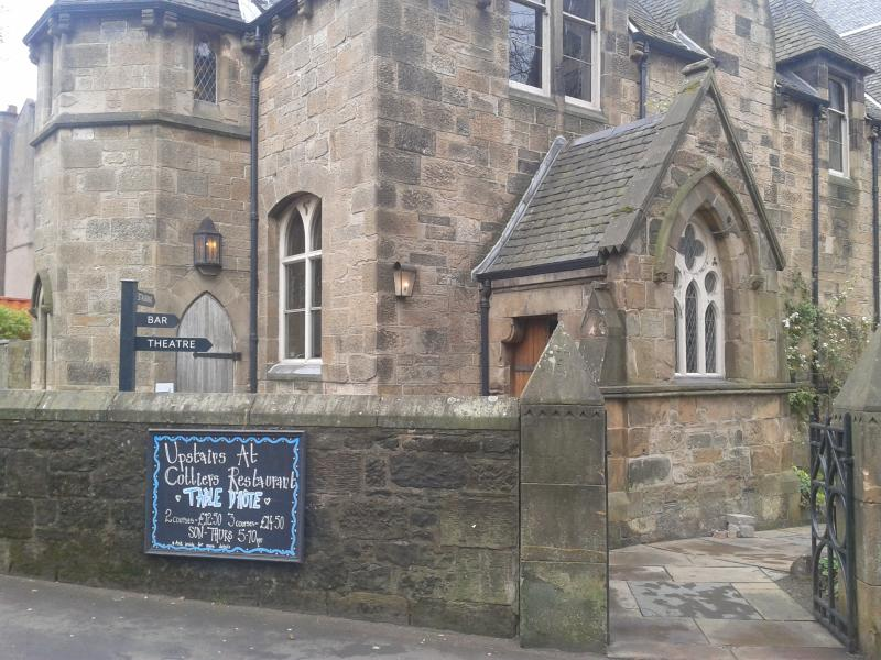 Cottiers Theatre & Restaurant: just at the end of Caird Drive!