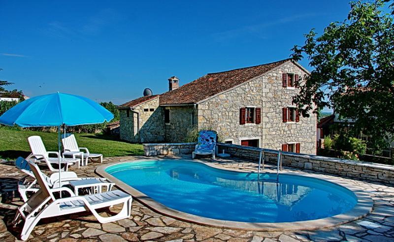 Istrian Villa Bernobic, Ferienwohnung in Visnjan