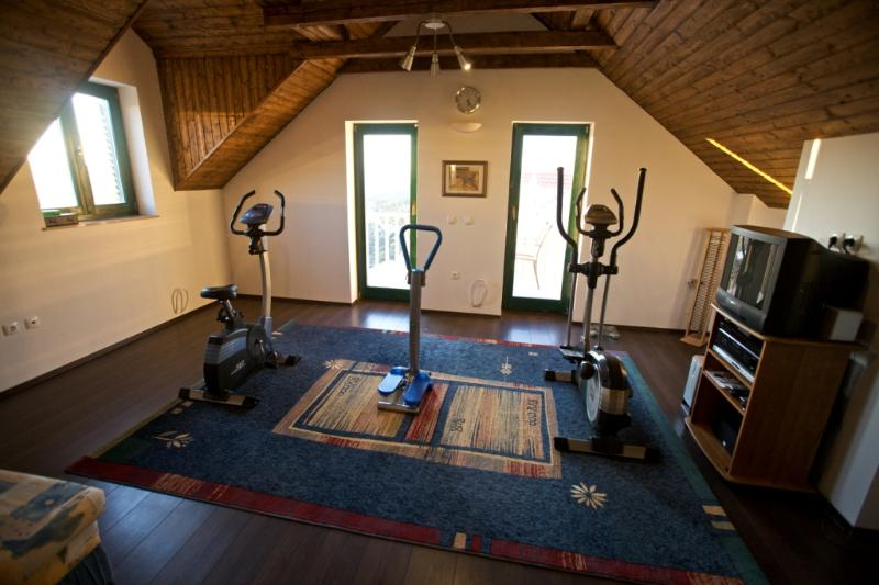 Fitness/Gym on top floor