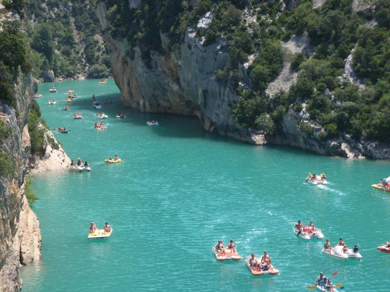 Fun in the Gorges Du Verdon