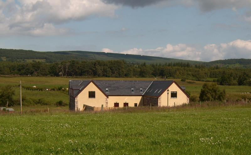 Cottages in the countryside