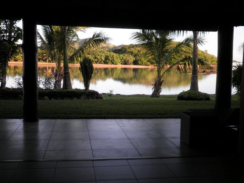 Utsikt från Grand Bure Seaside Veranda