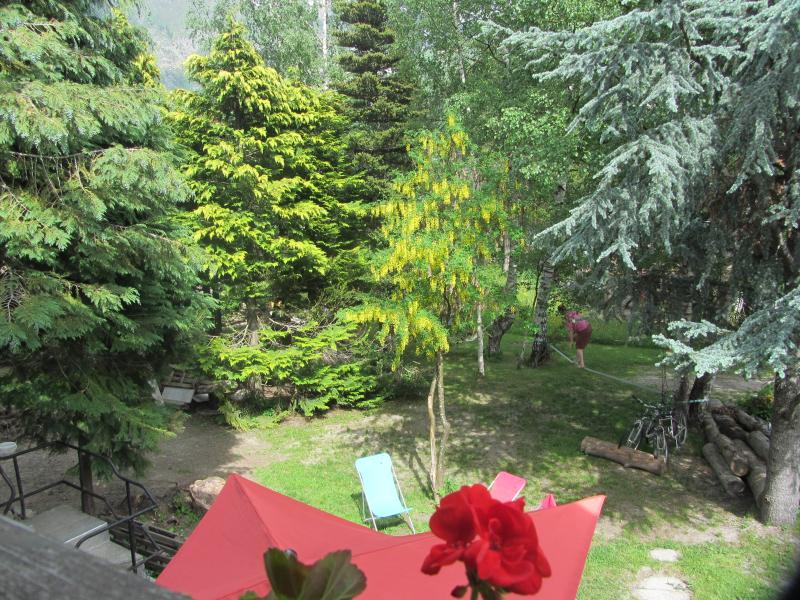 View of from the Balcony to the Garden, summer