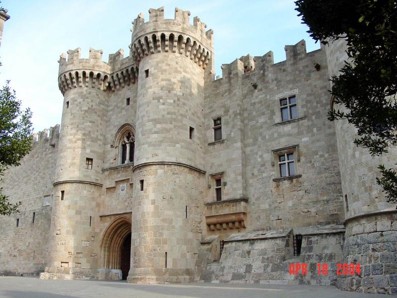 Grand Masters Palace in Rhodes Old Town
