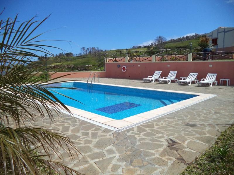Pool for a refreshing swim.