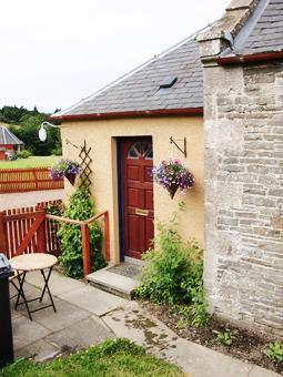 Back entrance to Martinshouse Cottage
