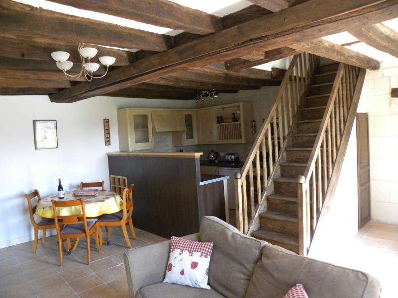 Le Bûcheron is a spacious open plan single storey accommodation