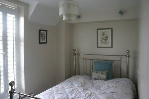 Bedroom 2, light airy and beautifully furnished - difficult to choose between the two!