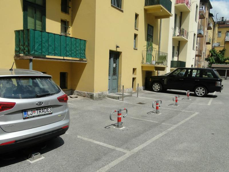 Exclusive parking space for no extra cost a dew steps away from the building back entrance.