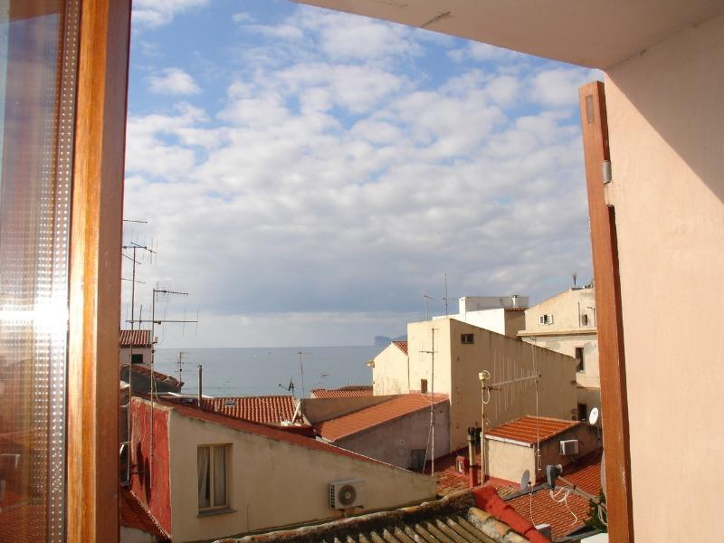 sea view from all windows in apartment