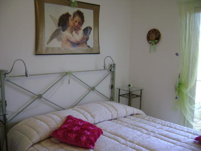 Chambre double avec belle décoration