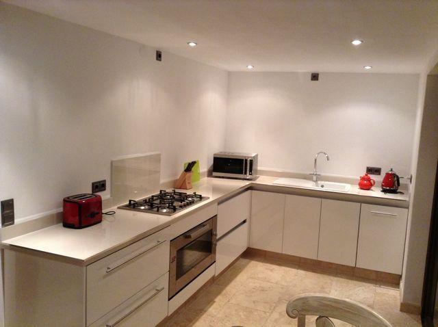 Pool side kitchen, oven, dishwasher, fridge drawers, microwave, toaster, kettle