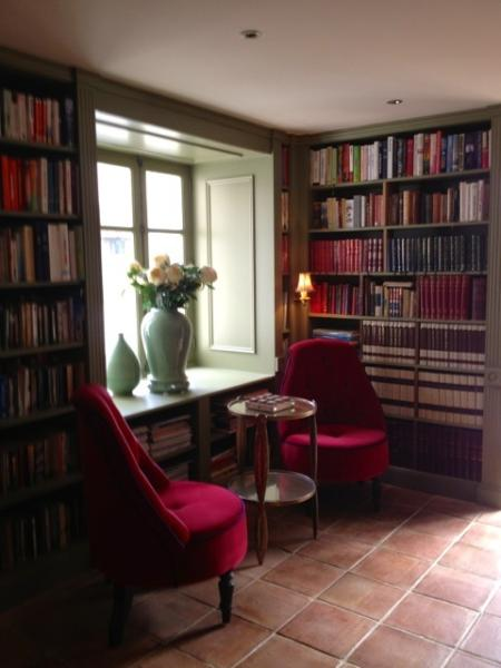 The Reading room, why not relax with one of our many books.