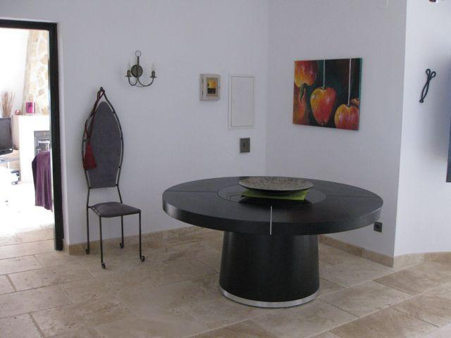 Dining area indoors, but you will want to be by the pool!
