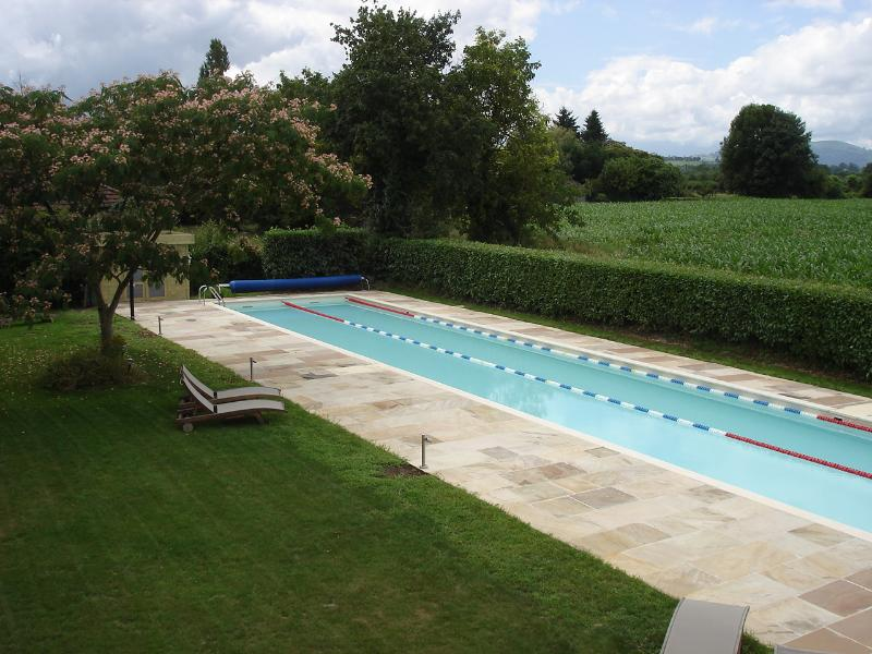 Did we mention the 25 metre heated, private pool . . . jump in now!