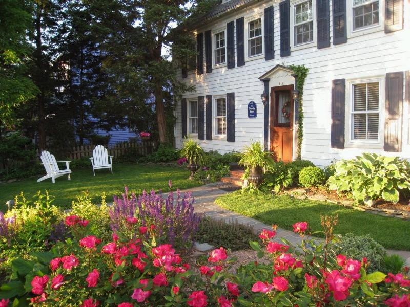 The Front Gardens at The Eldredge House