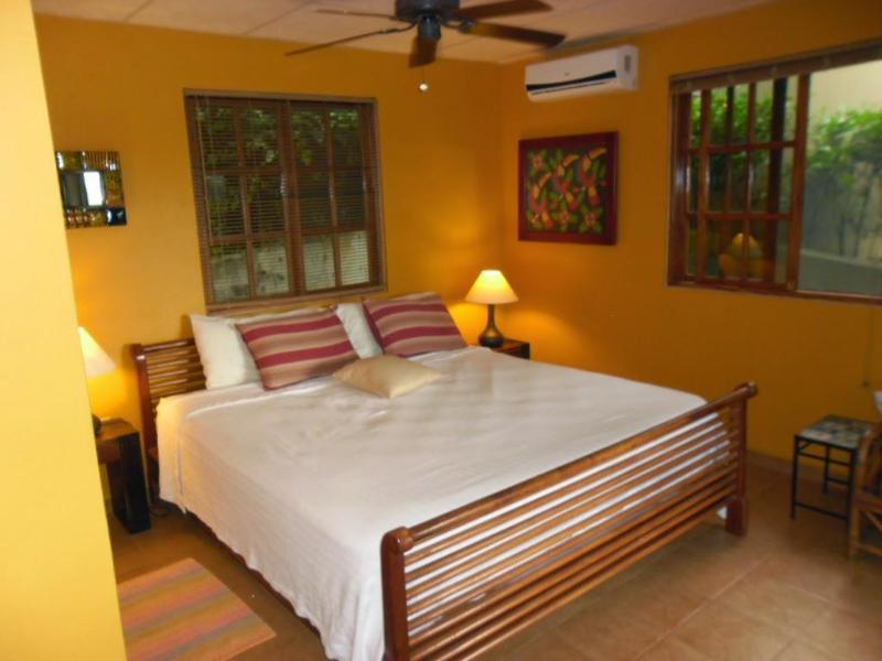 King bed - pillow top mattress - you will sleep well here