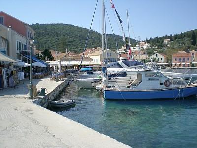 The harbour at Fiskardo