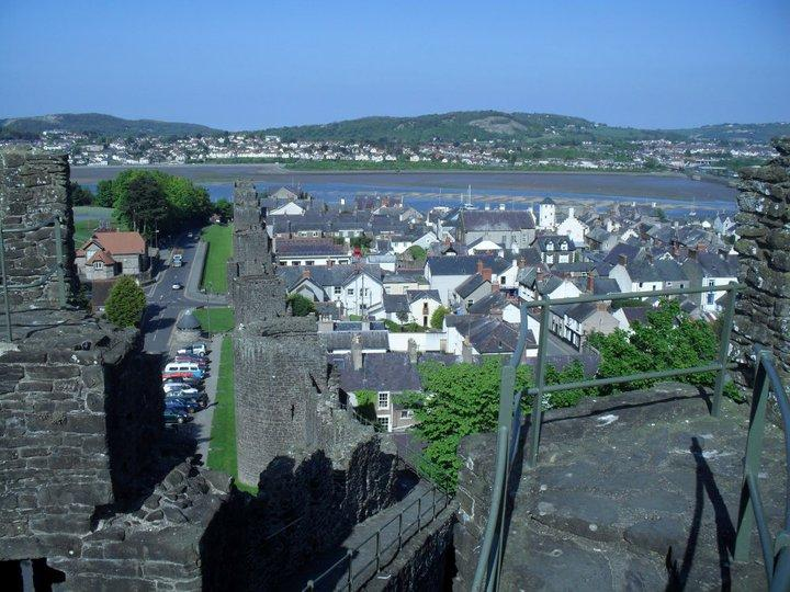 View from castle walls