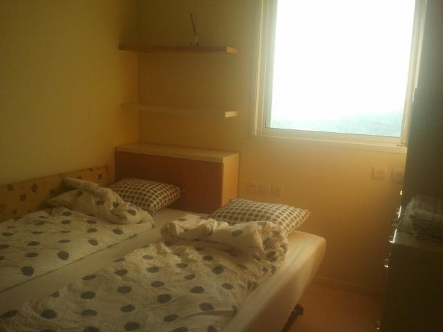bedroom 1, window to the sea