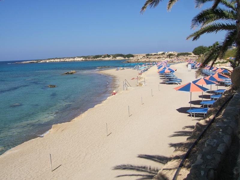 Coralia beach.