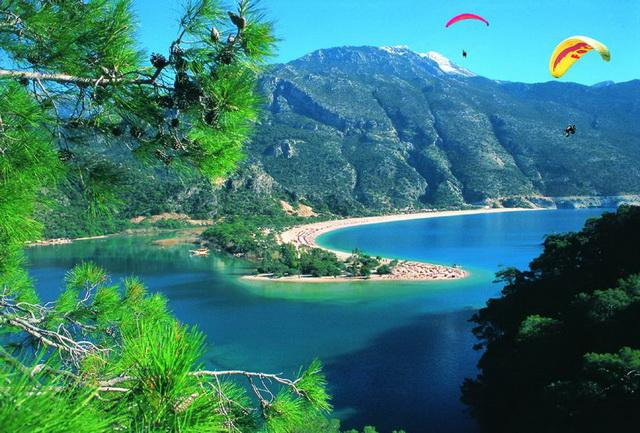 We are 17 km to Ölüdeniz best beach of the TURKEY