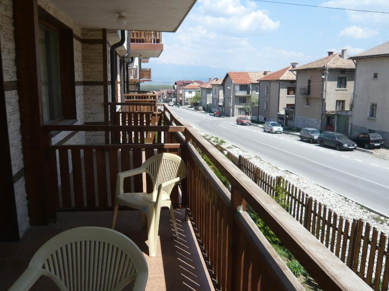 Balcony View to Rila Mountains