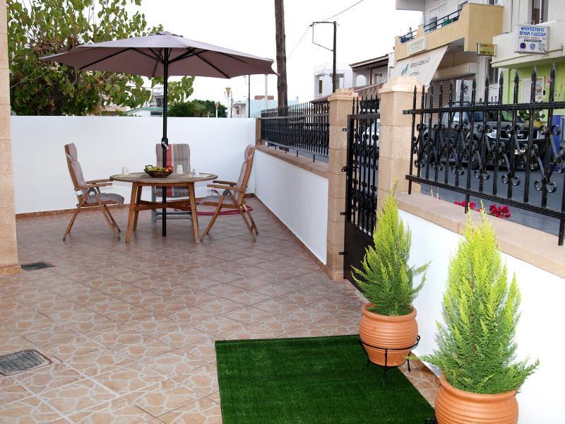 Evangelia Tradithional House Terrace