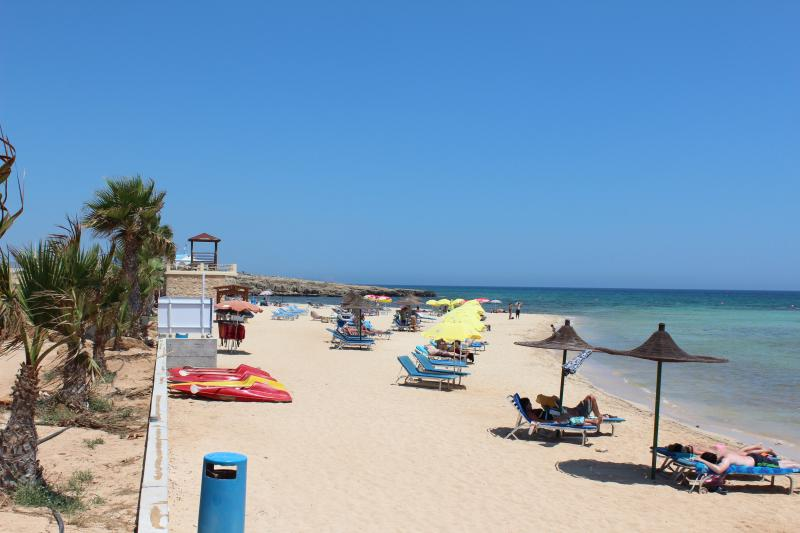 Ayia Thekla Beach, 2 minute walk from the villa.