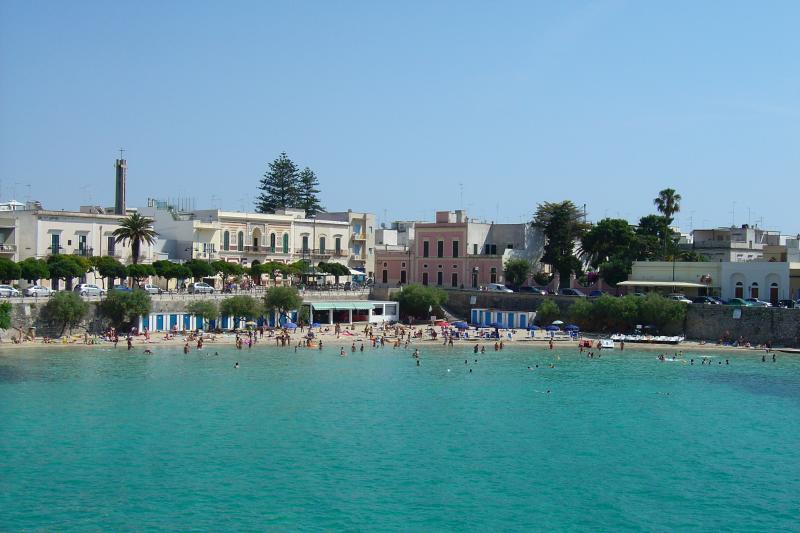 The coastal town of Santa Maria al Bagno
