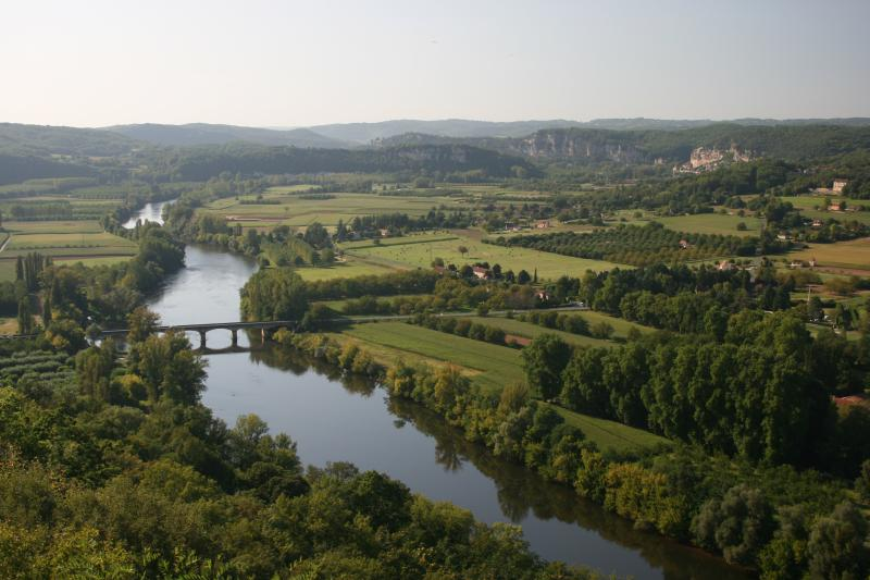 River Dordogne viewed from Domme