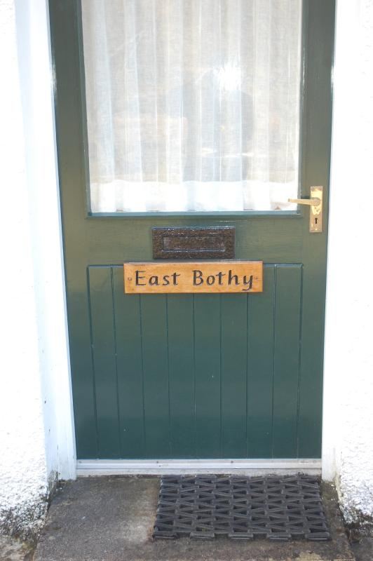 Front door to the East Bothy