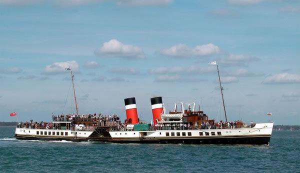 The Waverly paddle steamer: A lovely day out
