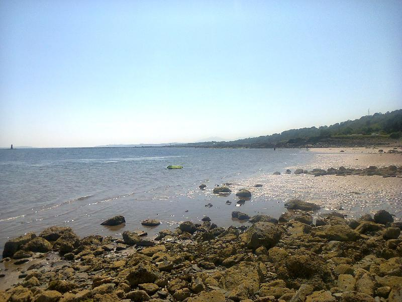 A sunny winters day at Innellan beach