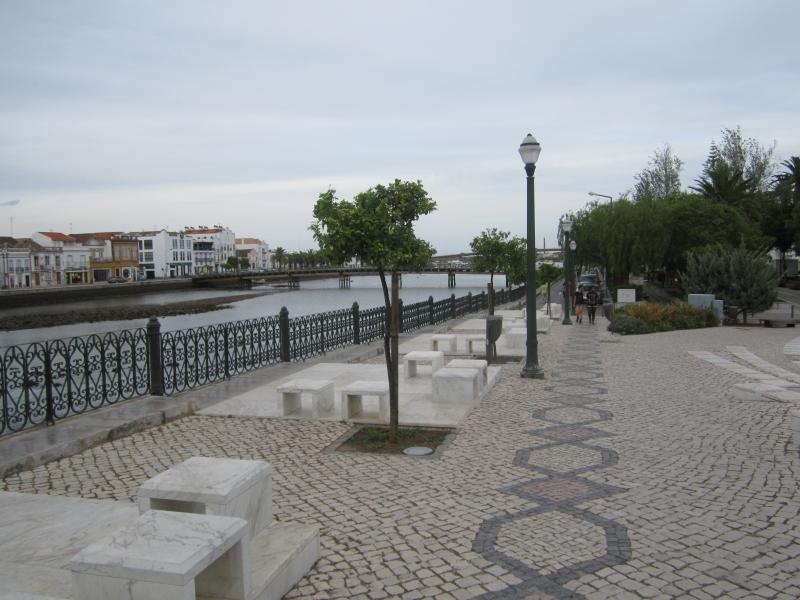 The river Gilao in Tavira