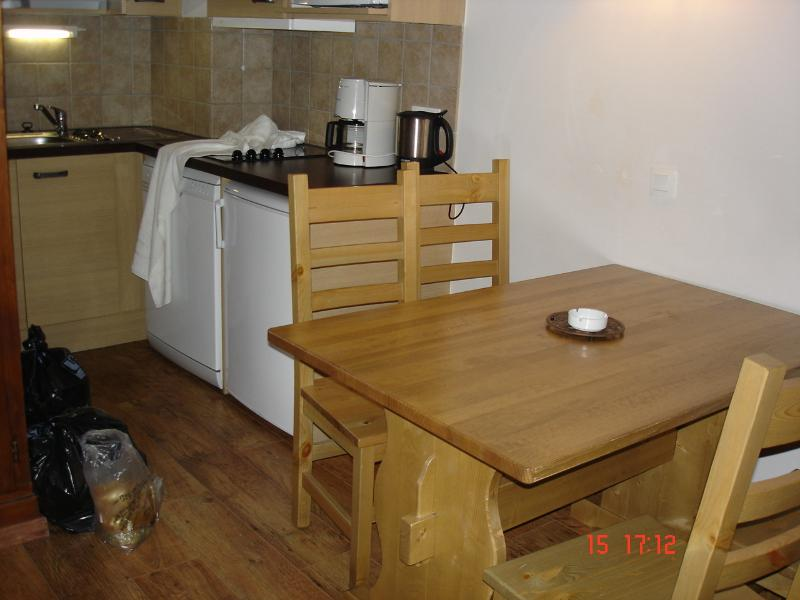Dining area, more spacious than it looks and lovely quality furniture