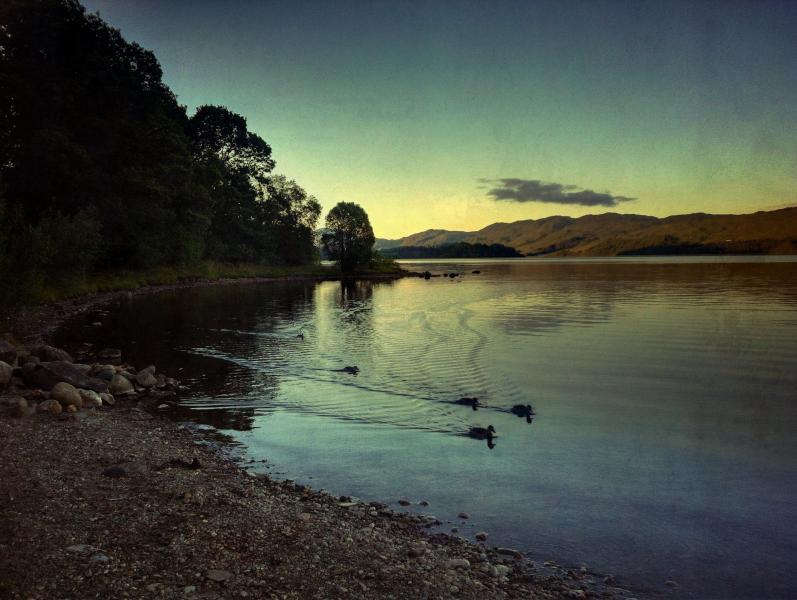 Lochside footpath