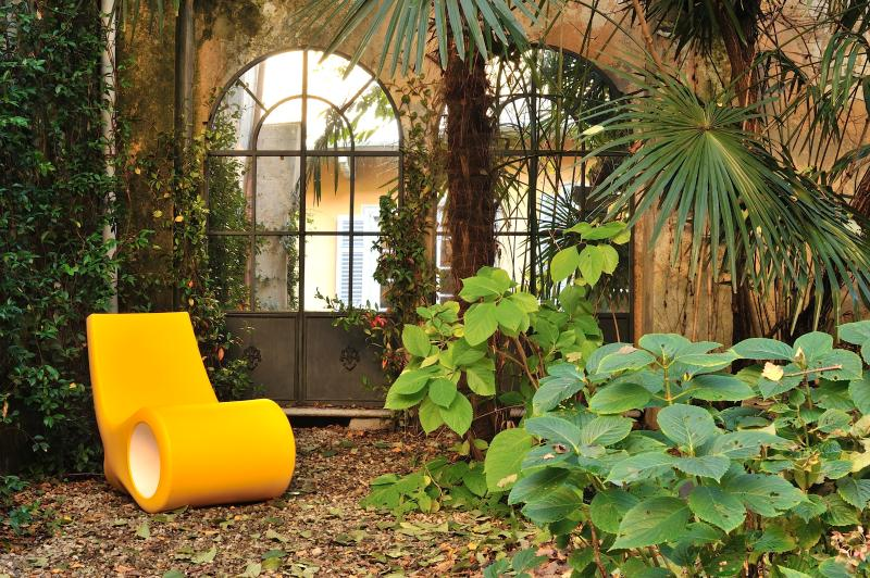 Jardín es un lugar romántico y privado para cenas y almuerzos íntimos