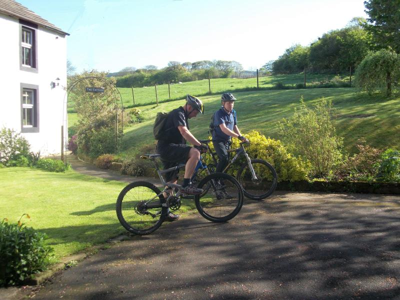 Great place to set off on your cycle ride, close to the Coast to Coast route