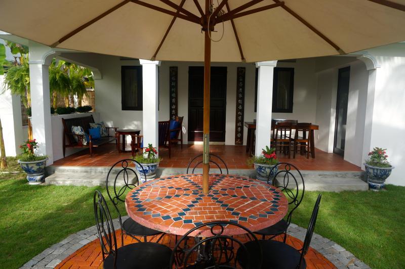 Annam House Front Verandah